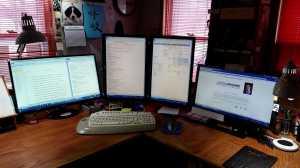 AJS all 4 monitors