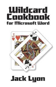 """Wildcard Cookbook"" by Jack Lyon"