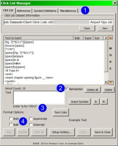 Click List Manager v7.0