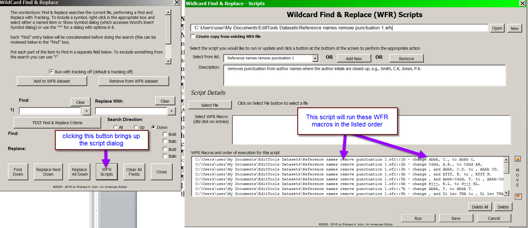 A Section Break In Ms Word How To How To Insert And Remove Wildcard  Find & Replace Scripts Removing
