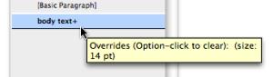 Override Options