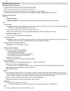 Stylesheet Sample